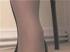 Tags: pagjajakol, stocking, matanda, pantyhose.