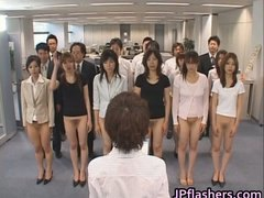 Half nude japanese chicks showing off part2.