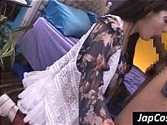 Žymės: brunetės, azijietės, kojinės, japonės.