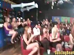 タグ: ナイトクラブ, 素人, 乱交パーティ, 着衣女と全裸男.