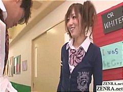 Tags: չարաճճի, ճապոնական, ուսանող, հագնված կին.