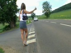 French hitchhiker.