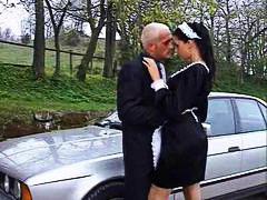 علامات: خادمات, في السيارة, قبلات, نيك جامد.