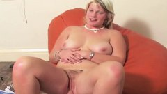 Chubby blonde bryony hairy pink pussy big pink tits 2.