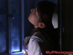 Ann nanba asian nurse gets a hot facial part1.