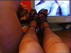 Ознаке: fetiš na stopala, čarape, amateri.