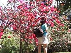 Žymės: analinis, viešumoje, raudonplaukės, lotynų merginos.