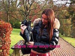 علامات: بنات جميلات, أحذية طويلة, فرنسيات, مراهقات.