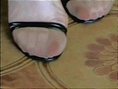Oznake: fetiš stopala, najlonke, amateri.