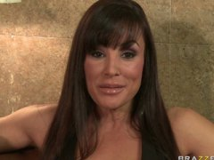 Big tit milf brunette wife pornstar lisa ann spices up her relati.