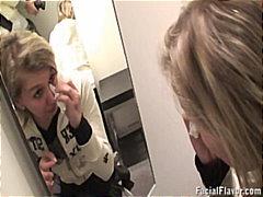 Tag: awam, pancut di muka, realiti, perempuan berpakaian lelaki bogel.