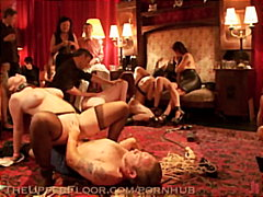 House slaves service the upper floor masters and mistresses.