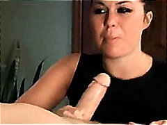 ashley blue does a sloppy deepthroat blowjob dtd .