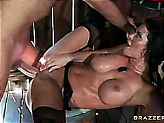 savannah stern fucked in the poon saloon .