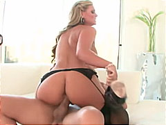 Phoenix marie gets an ass creampie.