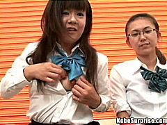Tag: remaja, lancap, bertiga, perempuan berpakaian lelaki bogel.