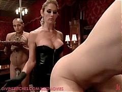 Taggar: fetisch, nylonstrumpor, dominant kvinna, porrstjärna.