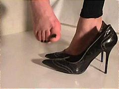 Ознаке: fetiš na stopala, fetiš, zadirkivanje kurca, fetiš na stopala.