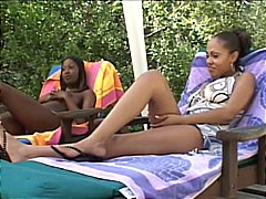 India, lacey duvalle & promise. lesbian threesome!.