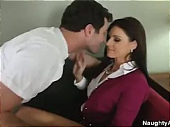 hot milf india summer sucks cock and fucks to keep secret and toy.