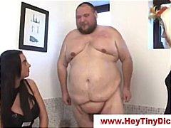 タグ: サディズム & マゾヒズム, 着衣女と全裸男.