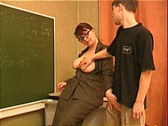 Teacher seduces a young stud.