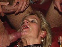 Žymės: spermos šaudymas, sperma ant veido, grupinė ejakuliacija.