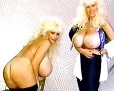 태그: 빈티지, 금발미녀, 큰 가슴.