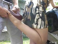 Tag: stokin, amatur, fetish kaki, luar rumah.