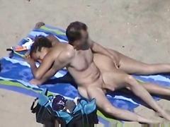 Oznake: na plaži, dekle drka tiča, amaterji.