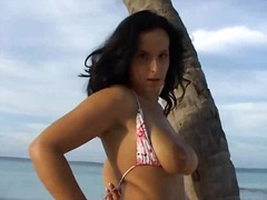 Perfect latino german girl wife nice round boobs big labia clit lips.