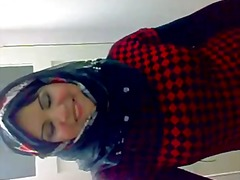 arab hijabi whore dancing 3.