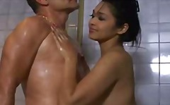 sensual thai soapy massage.