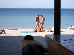 टैग: कामुक दर्शक, खुलेआम चुदाई, समुद्र तट.