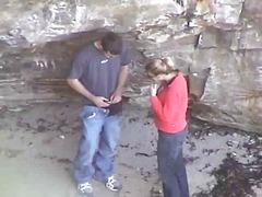 Ознаке: pušenje kurca, skrivena kamera, plaža.