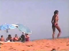 टैग: कामुक दर्शक, गुप्त कैमरा, समुद्र तट.