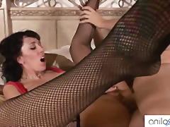 Alia janine huge tits jizzed.