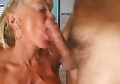 Mature with big clit and huge tits.