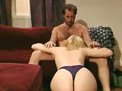 Sexy retro maid laura palmer foreplay and fuck.