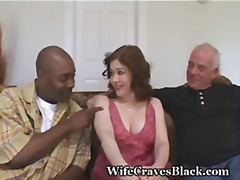 Horny wife fucks black for hubby.