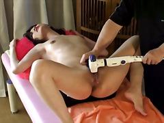 Taggar: sexleksak, närbild, massage.