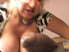 Bit titted dana hayes receives her muff pressed not far from pecker.