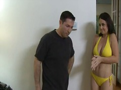 Holly west has her pussy filled by a married boy.