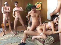Tag: gangbang, penetrações, dupla penetração, sexo em grupo.