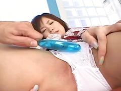 Žymės: azijietės, vibratorius, žaisliukai, brunetės.