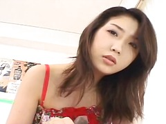 Insatiable hatsumi kudo finds her pussy licked and eaten by her lover.