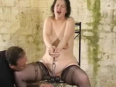 टैग: बंधक परपीड़न सेक्स, अधेड़ औरत, नायलान.