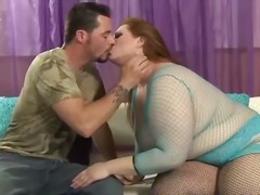 Blonde bbw liana gets on top.