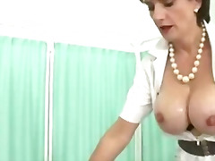 Busty wife gets tittyfucked by lucky stanger.