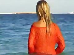 תגיות: פוסי, יפות, חוף, ערומות.